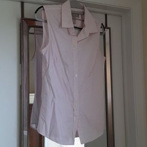 Sleeveless dress shirt